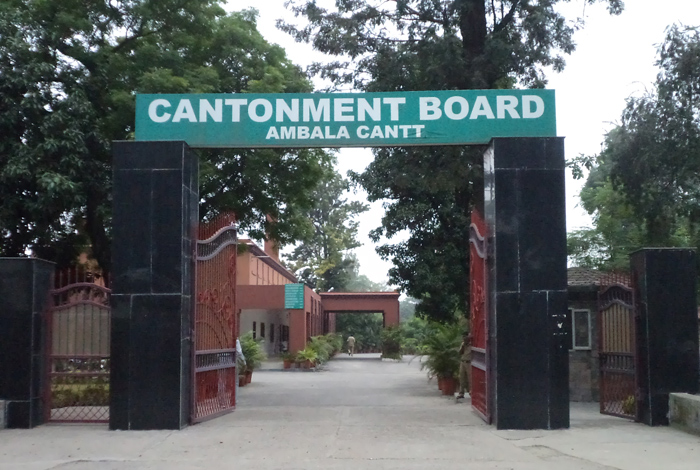 Ambala Cantonment Office Directorate General Defence Estates