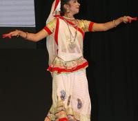 Solo Dance(Kathak) performed by Ms Deepali, a student of class 6 of Lucknow Cantonment Board on Defence Estates Day 2014