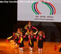 Group Folk Dance performed by children of Cantonment Board Khasyol's School on Defence Estates Day 2014