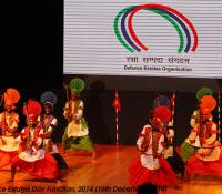 Cultural Event performed by Jalandhar Cantonment on Defence Estates Day 2014