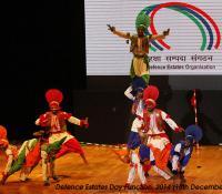 Cultural Event performed by Jalandhar Cantonment on Defence Estates Day 2014