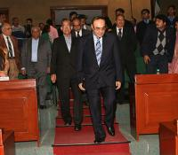 Arrival of Dignitaries in Ashoka Hall