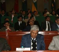 Shri Harish Prasad, Director NIDEM ,Shri AV Singh, Director CC DE and Shri Sauvik Majumdar, Director DE EC (Left to Right)