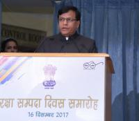Shri Jojneswar Sharma, DGDE addressing