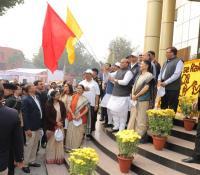 Swachhata Pakhwada 2019: Shri Rajnath Singh, Hon'ble RM flagging off Swachhata Pakhwada Ceremomney
