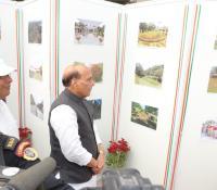 Swachhata Pakhwada 2019: Shri Rajnath Singh, Hon'ble RM visiting gallary