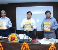 DG, Defense Estates releasing the 10th issue of 'Sambandha Bharti'