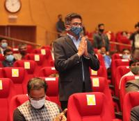 Shri Viraj Tyagi, CEO, eGov Foundation expressing Gratitude to Hon'ble Raksha Mantri during the launch of eChhawani Project on 16-02-2021