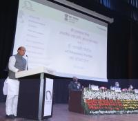 माननीय रक्षा मंत्री श्री राजनाथ सिंह द्वारा 16-02-2021 को ई-छावनी परियोजना के लोकार्पण के अवसर पर दर्शकों को सम्बोधन।