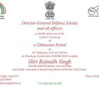 e-Invitation for Launch of eChhawani Portal