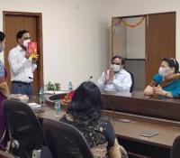 हिन्दी पखवाड़े के उदघाटन अवसर पर महानिदेशक महोदय का संबोधन