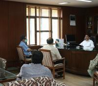 Assumption of regular charge of Director General, Defence Estates