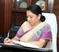 Smt. Deepa Bajwa assumes charge as Director General, Defence Estates on 01-09-2018