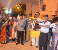 छावनी परिषद्, इलाहाबाद द्वारा सरस्वती घाट पर देव दीपावली समारोह का आयोजन किया गया