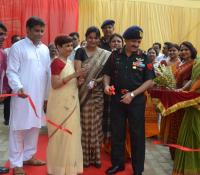 Inauguration of UDAAN Centre for Special Children  by Cantonment Board Allahabad