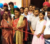 Inauguration of Pink Toilet in Ramgarh Cantonment