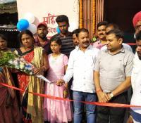 रामगढ़ छावनी में गुलाबी शौचालयों की व्यवस्था