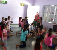 Cantonment Board Varanasi Organised Summer Camp for the Children of Cantonment Board School