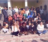 Delegation of American Students Visited Chirag School at Agra Cantt