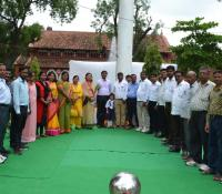 Inauguration of 100 Feet Flag Pole at the Premises of Church in New Cantonment, Allahabad Cantt