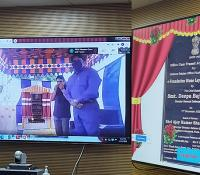 Foundation Stone for Office Complex of DEO Vishakhapatnam Circle being unveiled online