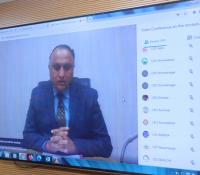 Opening Remarks by Shri K J S Chauhan, PDDE, WC regarding e-Inauguration of MINGRAM project