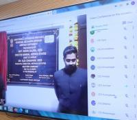 e-Inauguratipon of MINGRAM project of Amritsar Cantt Board
