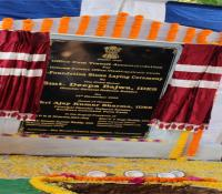 e-Foundation stone laid by the Chief Guest - Smt.Deepa Bajwa, Director General, Defence  Estates