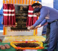 Symbolic Stone was laid by Shri.P N B Sarma, IDES (Retd) and Shri.K V Nagi Reddy, CVO,  RINL Vizag