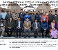 Training Course on Establishment Rules for the officials of Defence Estates Organisation