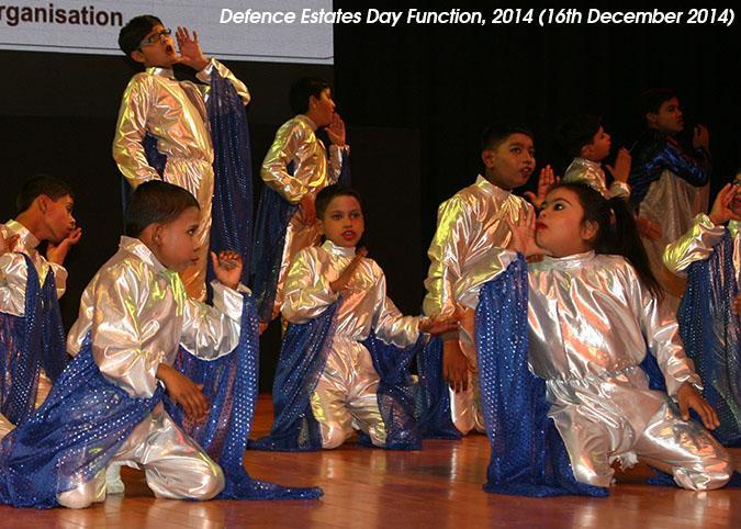 Group Dance performed by children of KRIPA, Delhi Cantonment