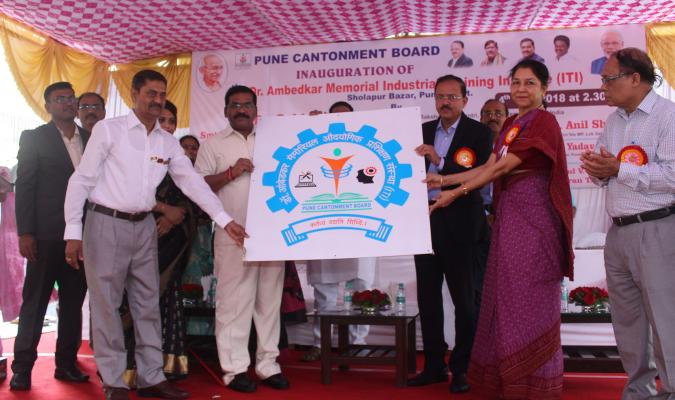 Inauguration Ceremony of Dr. Ambedkar Memorial Industrial Training Institute (ITI) at Pune Cantonment