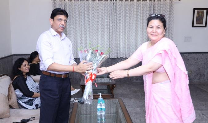Farewell of Shri Prachur Goel: 00