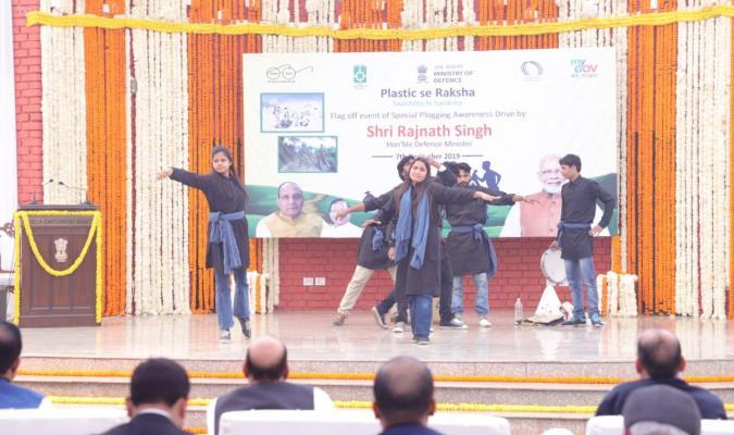 Swachhata Pakhwada 2019: Natak for Public Awareness