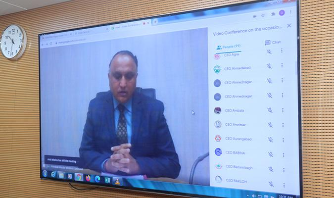 DED 2020: Opening Remarks by Shri K J S Chauhan, PDDE, WC regarding e-Inauguration of MINGRAM project