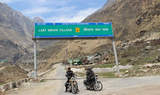 Ride to Himalayas: Reaching Last Indian Village-Mana