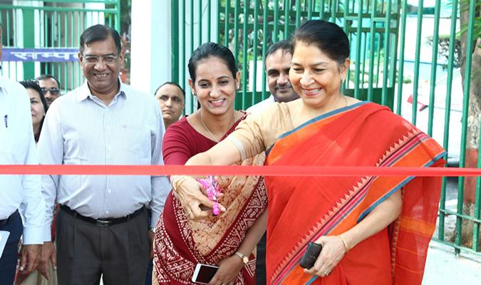 Inauguration of Sampada Van