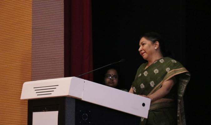 Smt Deepa Bajwa, DG DE addressing on the occasion of World Environment Day, 2019